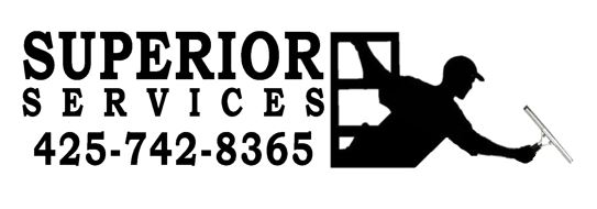 Superior service flyer logo